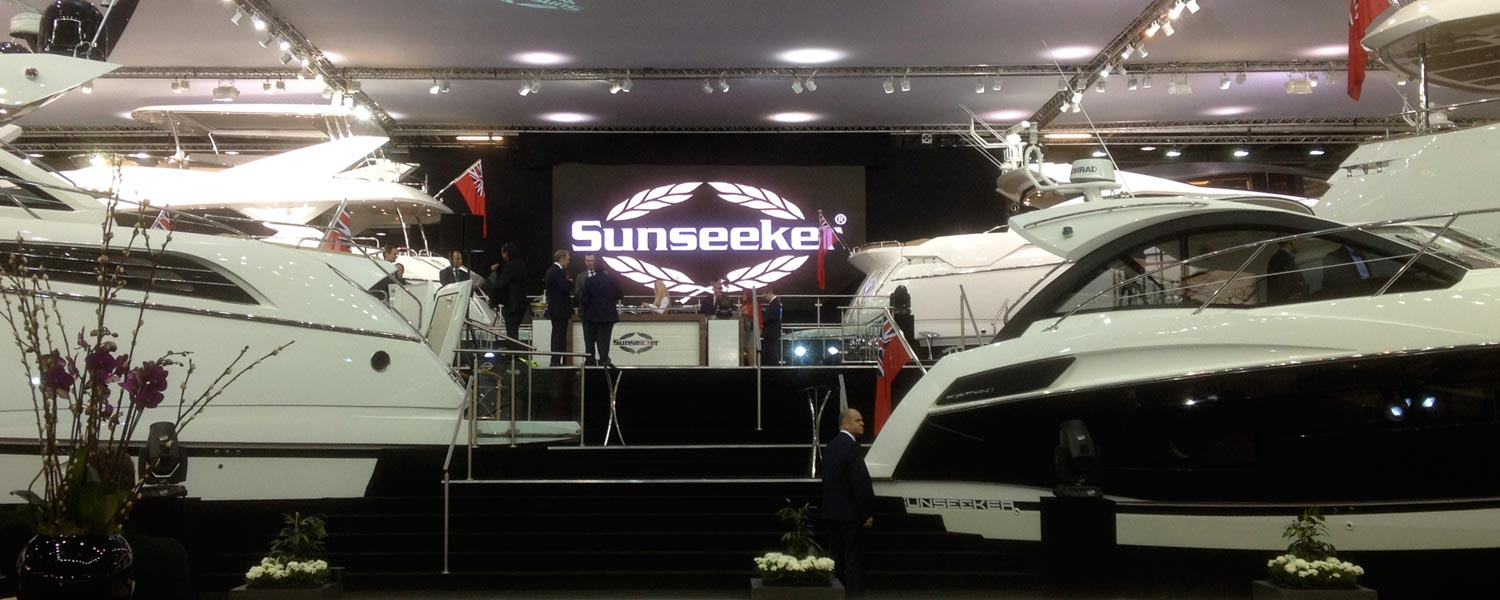 sunseeker exhibition stand